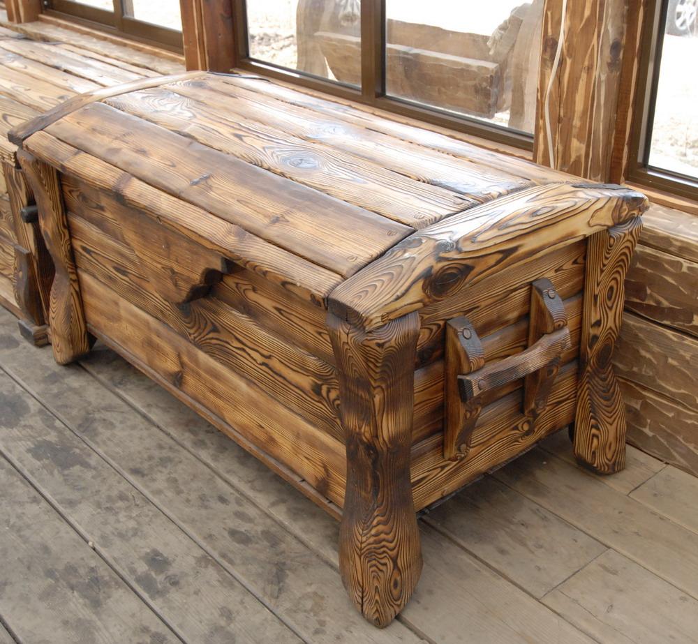 Мебель из состаренного массива омск.