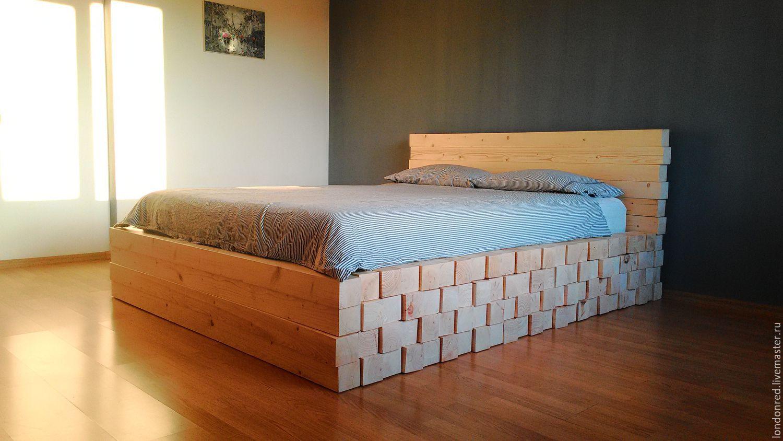 Заказать кровать из дерева